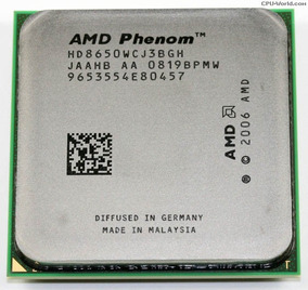 Processador Amd Phenom 8650 Triple Core 2.30ghz Am2 C/ Garan