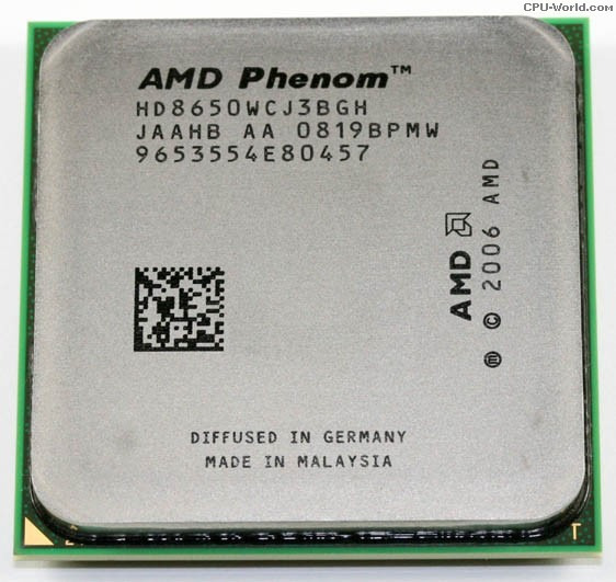 Processador Amd Phenom 8650 Triple Core 2.30ghz Am2 C/ Garan