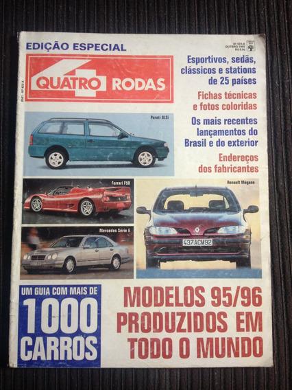 Revista Quatro Rodas 423 A - Esp. 1000 Carros Modelos 95/96