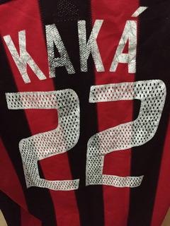 Uniforme Milan Oficial (2003) - Kaka
