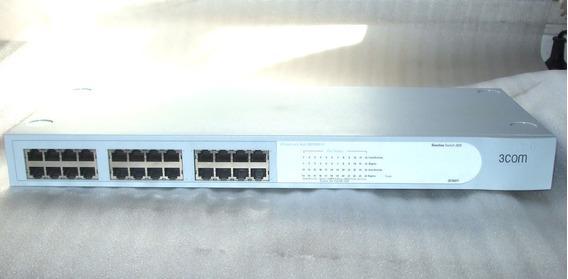 Switch 3com 2024 3c16471 Baseline 2024 10/100 De 24 Puertos