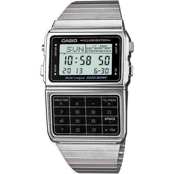 Relógio Casio Masculino Data Bank Dbc-611-1df