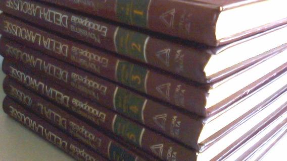 Enciclopédia Delta Larousse 7 Volumes