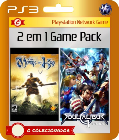 Soulcalibur Ii Hd Online + The Mark Of Kri! ( Ps3)