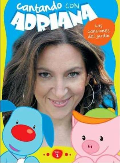 Dvd Adriana - Cantando Con Adriana Vol. 1 - Original Sellado