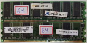 Memória 128mb /ddr333 / Pc2700