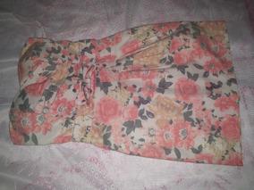 Vestido Floral Tomara Que Caia Tamanho P Veste M