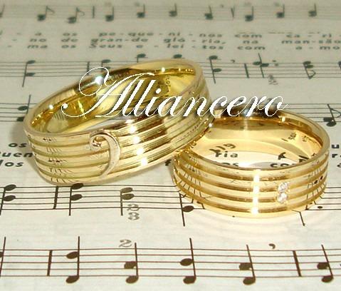Aliança Ouro 18k 14gr - Frete Gratis - Casamento Alliancero