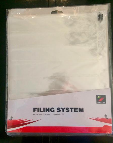 Folha De Proteção Para Negativos 35mm Print File 25 Folhas