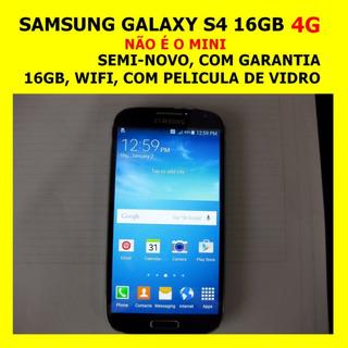 Samsung Galaxy S4 4g Acessorios Originais Pelicula Vidro +