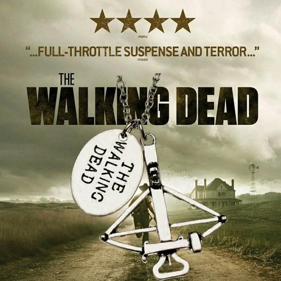 Colar The Walking Dead. Flechas, Arco, Besta.