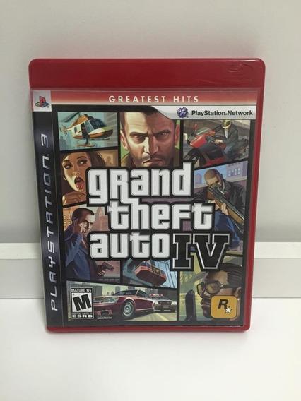 Ps3 - Gta Iv 4 - Grand Theft Auto 4 Gta 4 , Envio Imediato.