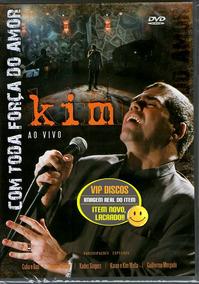 Dvd Kim Com Toda A Força Do Amor Banda Catedral Novo Lacrado