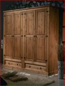 Guarda-roupa;madeira Maciça;rústico,armário;roupeiro