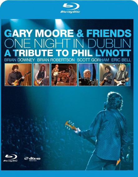 Blu Ray - Gary Moore & Friends - Novo Lacrado