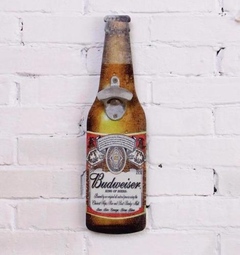 Destapador De Madera Corona - Coca Cola - Stela - Guiness