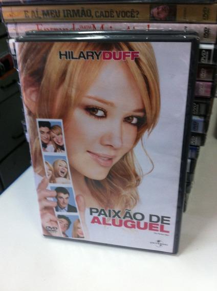 Dvd Original Paixão De Aluguel (hilary Duff) Lacrado