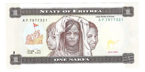 Eritrea 1997 Billete De 1 Nafka Sin Circular