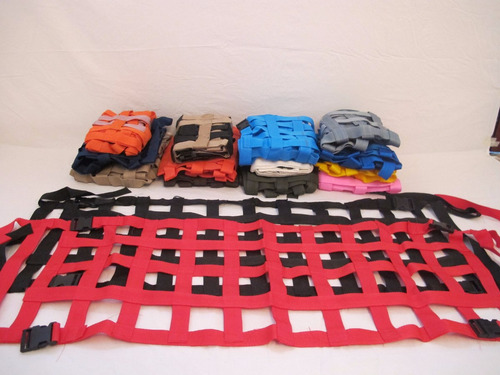 Mallas Sujeta-equipaje De 4 Anclajes. Ps4x4