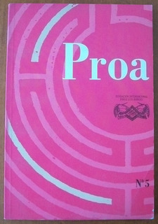 L4599. Proa Nº 5: Número Dedicado A Virgina Woolf.