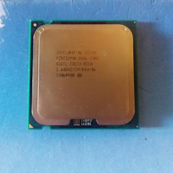 Processador Intel Dual-core E5300 2.60ghz