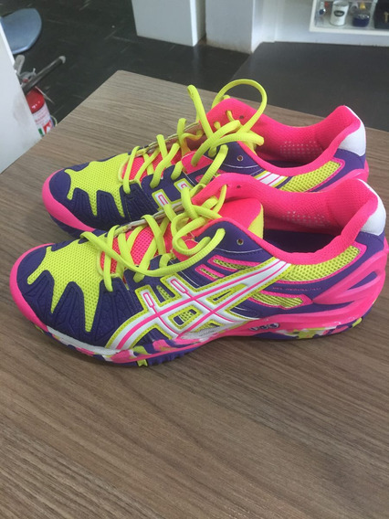 Tenis Asics Resolution 5 Original - Feminino