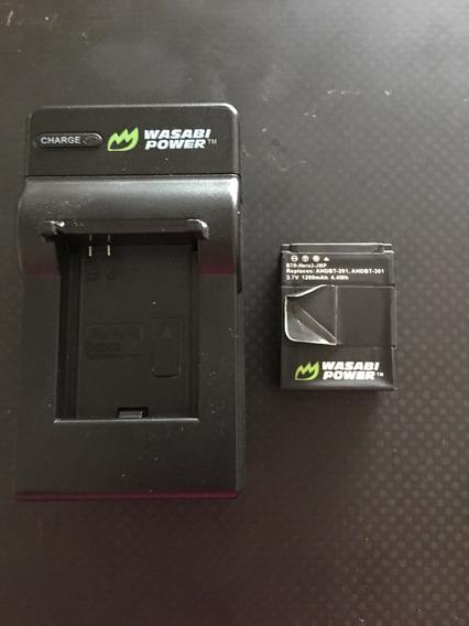 Carregador Bateria Go Pro Hero 3 + Bateria