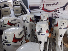Motor Evinrude E-tec 60 Hp 5 Años De Garantia Oficial!!