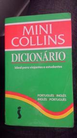 Livro Mini Collins Dicionário Português/inglês - Inglês/port