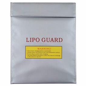 Bolsa Lipo Guard - Anti Chamas Para Bateria Lipo - 23cmx18cm