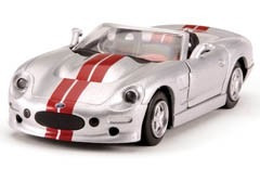 Shelby Series 1 Prata Metal Escala 1/32 - Testors