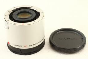 Minolta Af 2x Teleconverter-ii Apo / Teleconversor Sony A