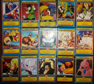 Cartas De Dragon Ball Z