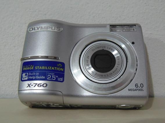 Câmera Fotografica Olympus X-760 (funcionando)