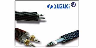 6 Peças Resistencia Aleta Secadora Suzuki 1500w 500mm Inox