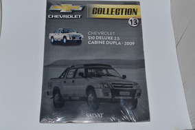 Fascículo Salvat Chevrolet Collection S10 Cabine Dupla