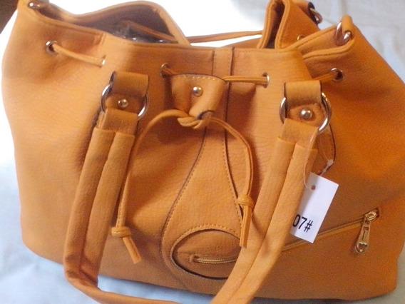 Bolsa Amarela Duas Alças