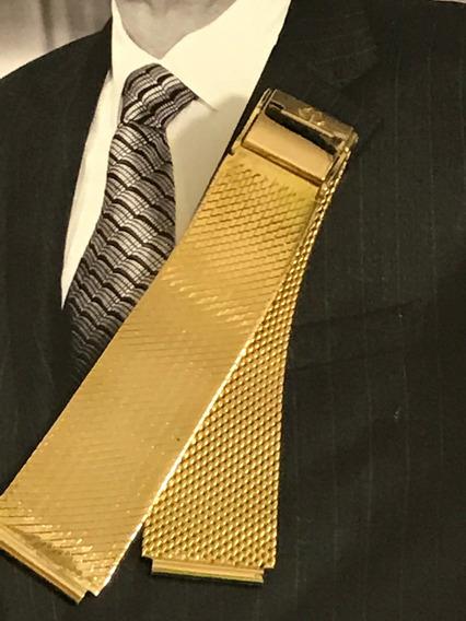 Pulseira P/relógio Ouro 18k-54.8 G: 17,5 Cm