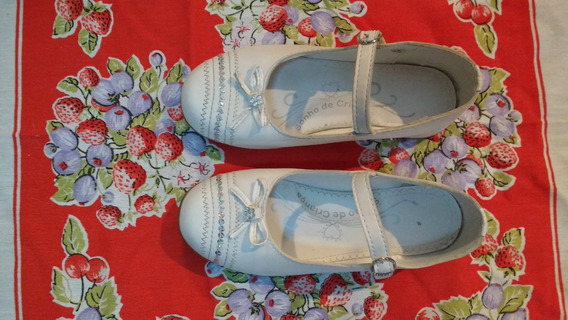 Sapato Branco Tam 29 Sonho De Criança