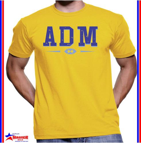 Imagem 1 de 1 de Camisa Camiseta De Curso Universitário Administração Adm