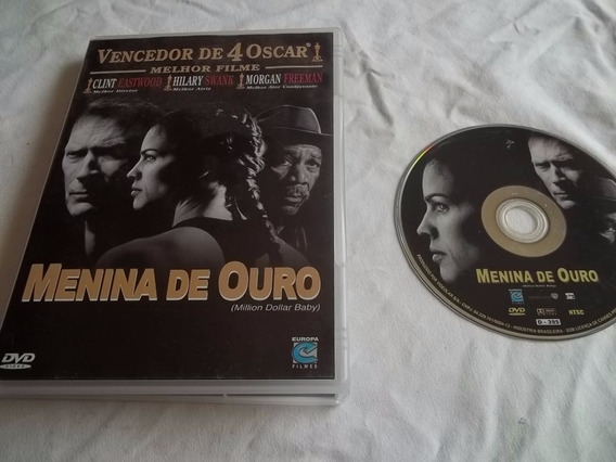 * Dvd - Menina De Ouro - Clint Eastwood, Morgan Freeman