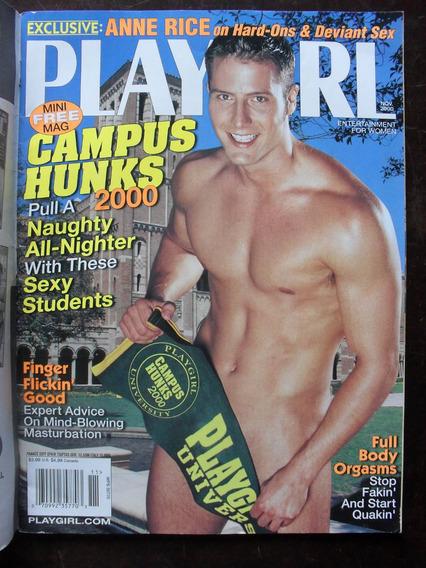 G Magazine Playgirl Magazine - Nov/2000