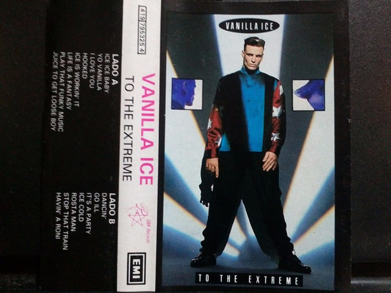Vanilla Ice To The Extreme Cass Usado 1ra Ed 1990 México