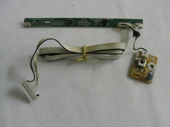 Placa Teclado Funçao/placa Sensor Cr Samsung Ln26a330j1/div