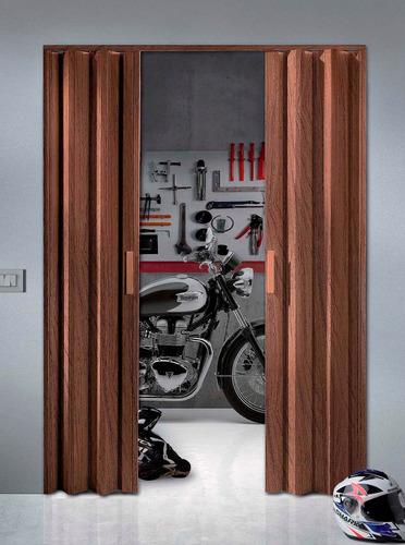 Imagen 1 de 9 de Puerta Plegable Para Garages! Ajustable A Tus Medidas!