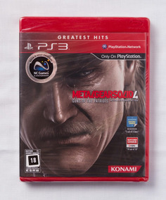 Metal Gear Solid 4 Ps3 - Lacrado