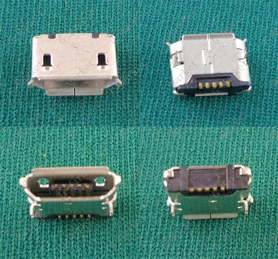 Kit 5x Conector Micro Usb Semp Toshiba Sti Ta-0705g -070