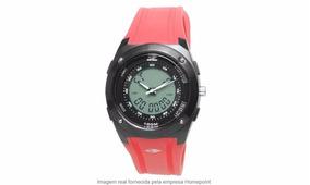 Relógio Mormaii - Kw7713 8r - Moderno Digital Vermelho/ Pret