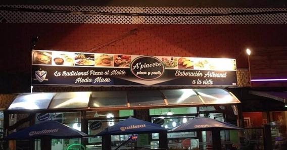Fondo De Comercio Pizzeria 38 Años De Trayectoria /centro
