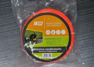 Nylon Desmalezadora Cuadrado 3.3mm 200 Mts Ya Disponible